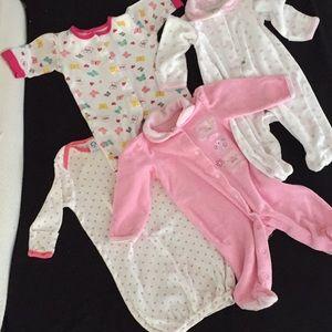 Other - Baby girl pajamas